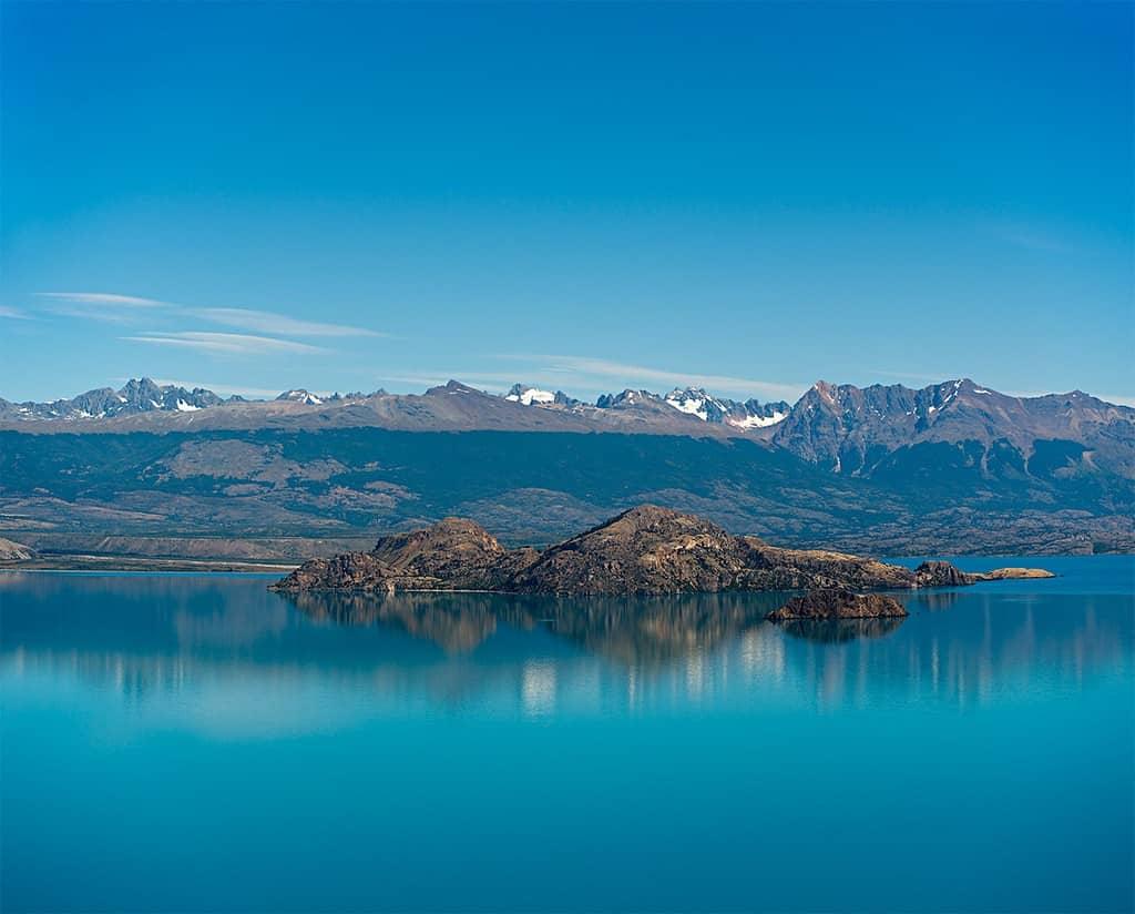 Lago general carrera, el más grande de Chile