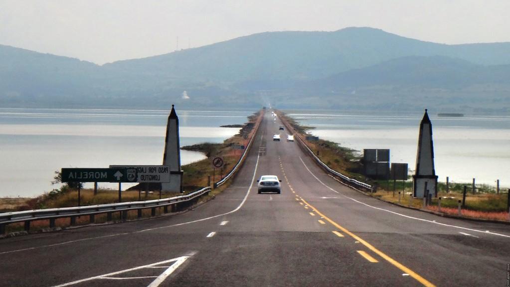 Lago de Cuitzeo, uno de los más grandes de México