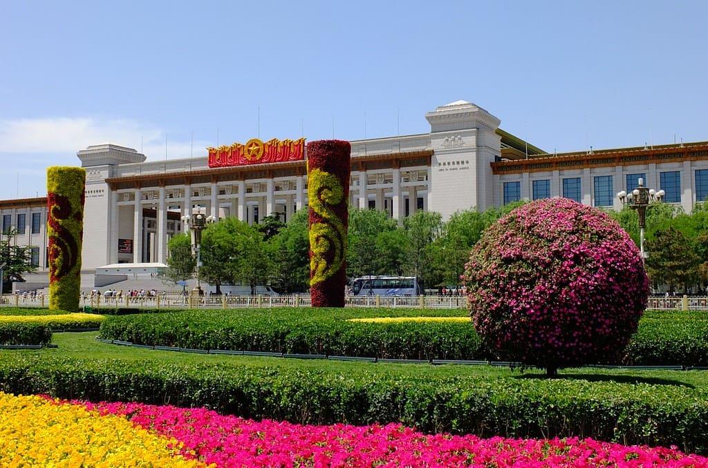 Museo nacional de china, uno de los más grandes del mundo