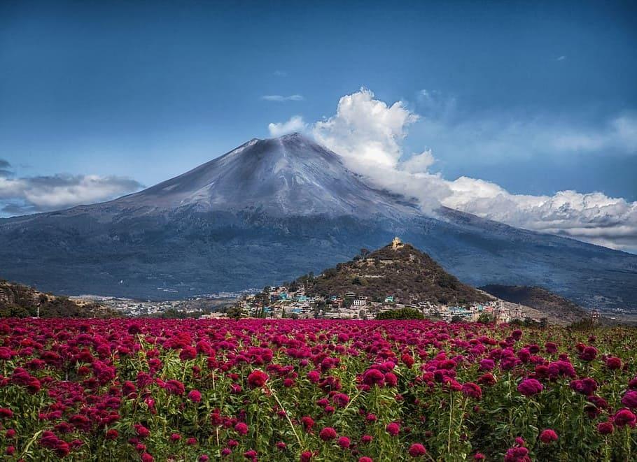 Popocatépetl, el segundo volcán más grande de México