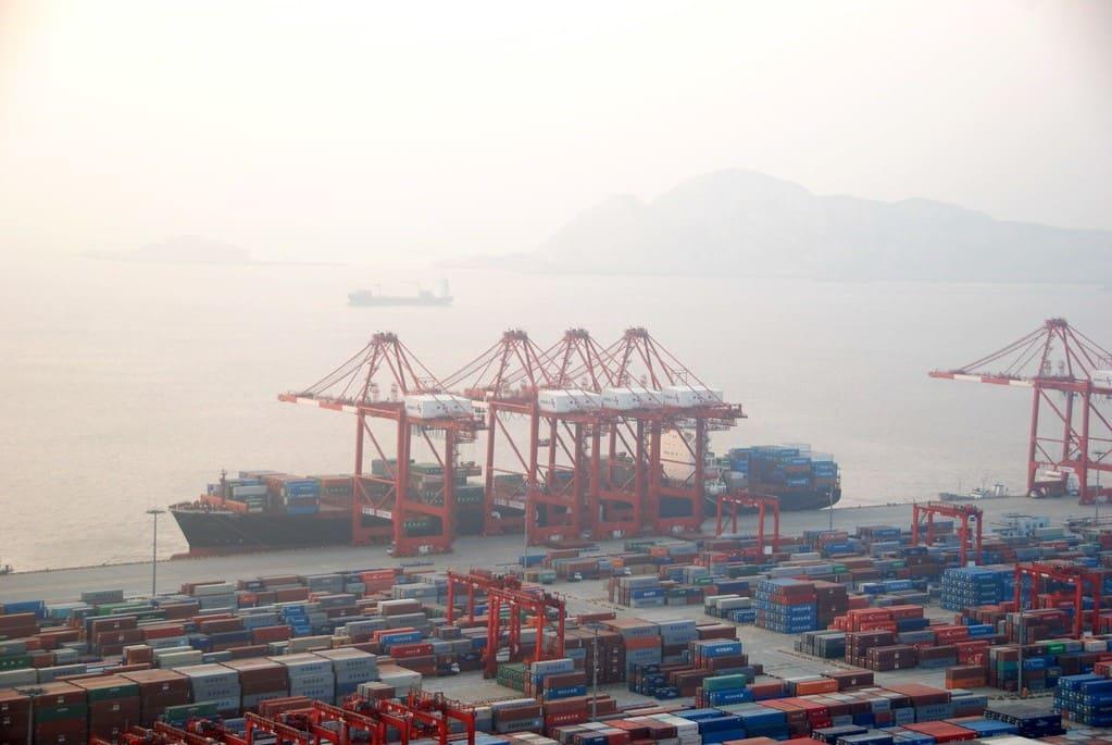 Puerto de Shanghái, el más grande del mundo