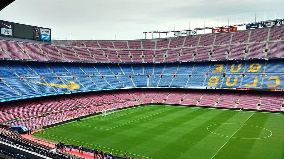 Estadio del camp nou, el más grande de Europa