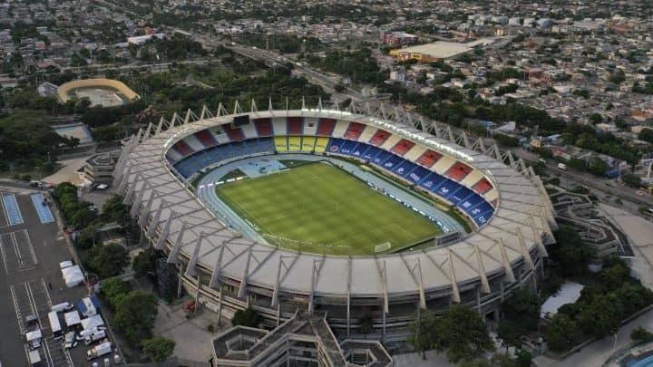 El metropolitano, el segundo en la lista de los estadios más grandes de Colombia