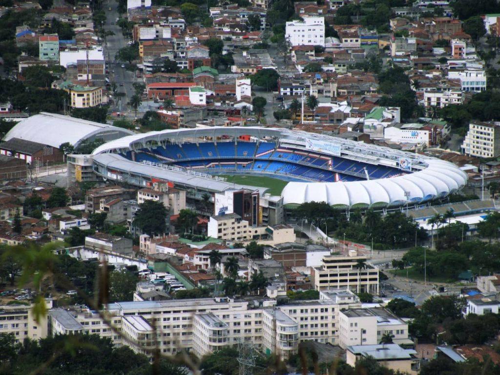 Estadio olímpico pascual guerrero, uno de los más grandes de Colombia