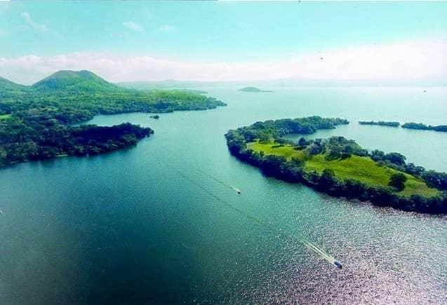 Laguna de Catemaco, el quinto en la lista de lagos más grandes de México